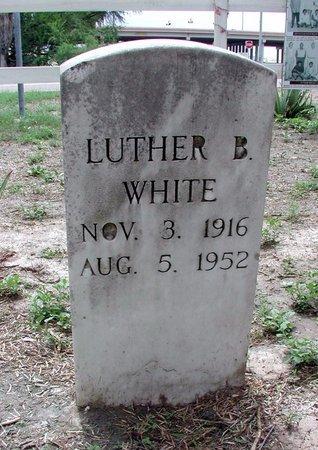 WHITE, LUTHER B - Hidalgo County, Texas | LUTHER B WHITE - Texas Gravestone Photos