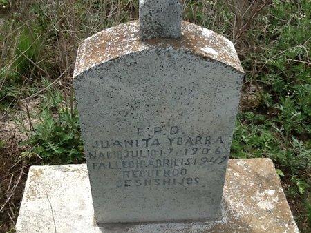 YBARRA, JUANITA - Hidalgo County, Texas | JUANITA YBARRA - Texas Gravestone Photos