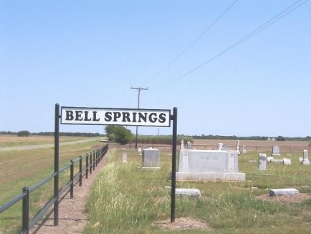*BELL SPRINGS CEMETERY,  - Hill County, Texas |  *BELL SPRINGS CEMETERY - Texas Gravestone Photos