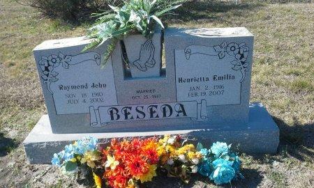 PRIBYLA BESEDA, HENRIETTA EMILIE - Hill County, Texas | HENRIETTA EMILIE PRIBYLA BESEDA - Texas Gravestone Photos