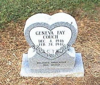 COUCH, GENEVA FAY - Hill County, Texas | GENEVA FAY COUCH - Texas Gravestone Photos