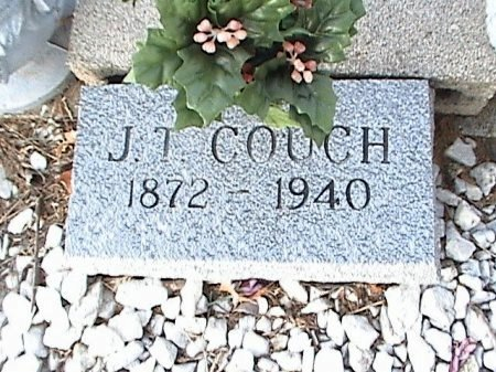 COUCH, JAMES TAYLOR (CLOSEUP) - Hill County, Texas | JAMES TAYLOR (CLOSEUP) COUCH - Texas Gravestone Photos
