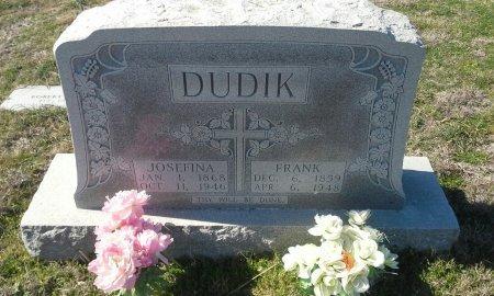 DUDIK, FRANK - Hill County, Texas | FRANK DUDIK - Texas Gravestone Photos