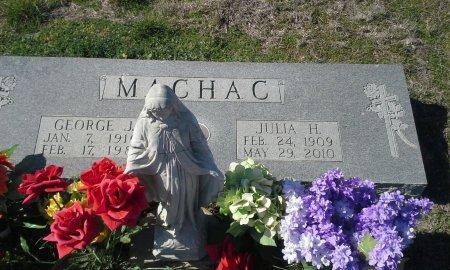 MACHAC, JULIA H. - Hill County, Texas | JULIA H. MACHAC - Texas Gravestone Photos