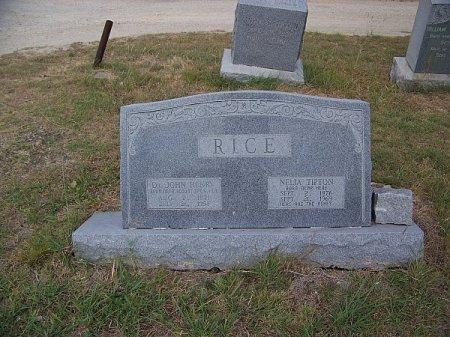 TIPTON RICE, NELIA - Hill County, Texas   NELIA TIPTON RICE - Texas Gravestone Photos