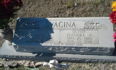 SVACINA, ELNORA AGNES - Hill County, Texas | ELNORA AGNES SVACINA - Texas Gravestone Photos