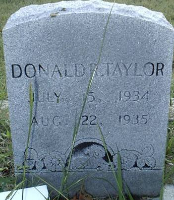 TAYLOR, DONALD R. - Hill County, Texas | DONALD R. TAYLOR - Texas Gravestone Photos