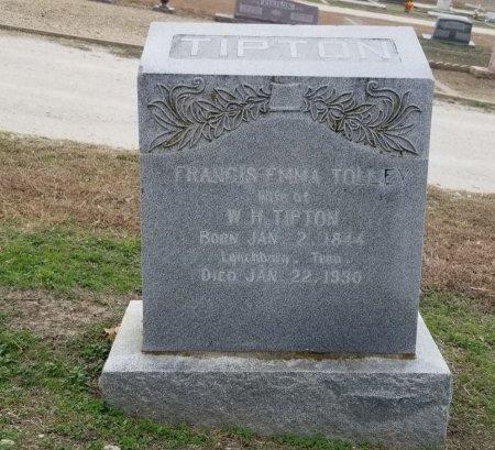 TALLEY TIPTON, FRANCIS EMMA - Hill County, Texas | FRANCIS EMMA TALLEY TIPTON - Texas Gravestone Photos