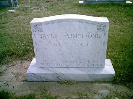 ARMSTRONG, JAMES FRANKLIN - Hockley County, Texas | JAMES FRANKLIN ARMSTRONG - Texas Gravestone Photos