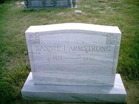 PAYNE ARMSTRONG, NANNIE IRENE - Hockley County, Texas | NANNIE IRENE PAYNE ARMSTRONG - Texas Gravestone Photos