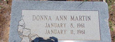 MARTIN, DONNA ANN - Hockley County, Texas | DONNA ANN MARTIN - Texas Gravestone Photos