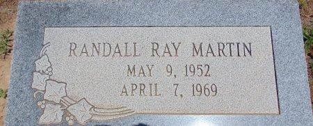 MARTIN, RANDALL RAY - Hockley County, Texas | RANDALL RAY MARTIN - Texas Gravestone Photos