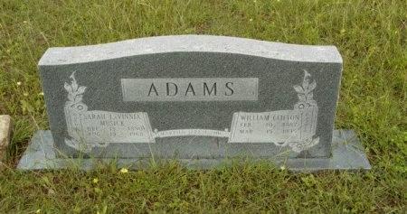 ADAMS, SARAH LAVINNIA - Hood County, Texas | SARAH LAVINNIA ADAMS - Texas Gravestone Photos