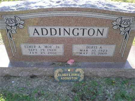 MCKERLIE ADDINGTON, DORIS A - Hood County, Texas   DORIS A MCKERLIE ADDINGTON - Texas Gravestone Photos