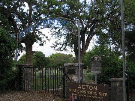 *CEMETERY ENTRANCE,  - Hood County, Texas |  *CEMETERY ENTRANCE - Texas Gravestone Photos