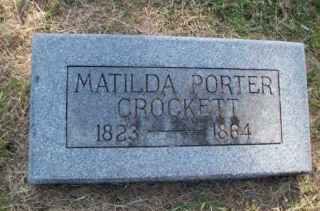 CROCKETT, MATILDA - Hood County, Texas | MATILDA CROCKETT - Texas Gravestone Photos