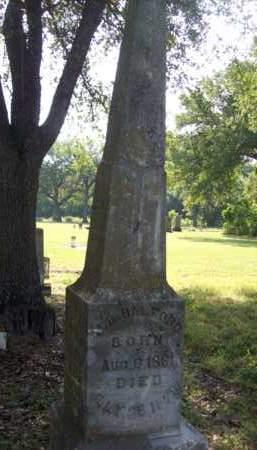 HALFORD, J.B. - Hood County, Texas | J.B. HALFORD - Texas Gravestone Photos