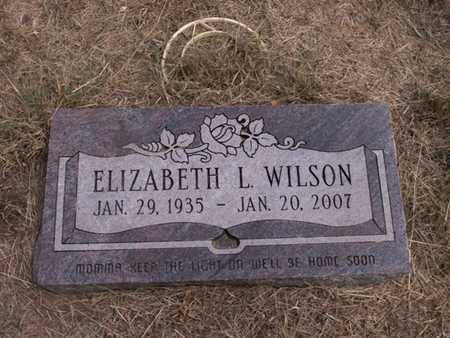 WILSON, ELIZABETH LEE - Hood County, Texas | ELIZABETH LEE WILSON - Texas Gravestone Photos