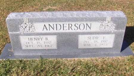 ANDERSON, HENRY B - Hopkins County, Texas | HENRY B ANDERSON - Texas Gravestone Photos