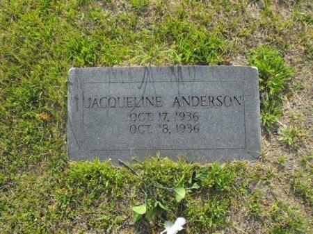 ANDERSON, JACQUELINE - Hopkins County, Texas | JACQUELINE ANDERSON - Texas Gravestone Photos