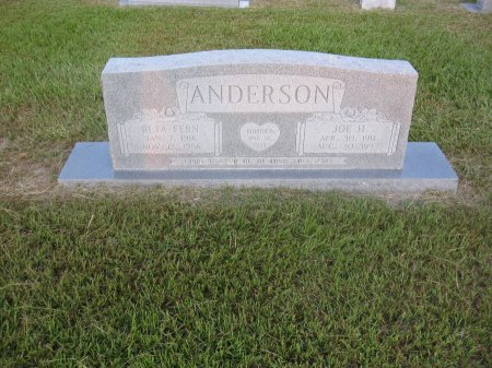 SPRINGER ANDERSON, RETA FERN - Hopkins County, Texas | RETA FERN SPRINGER ANDERSON - Texas Gravestone Photos