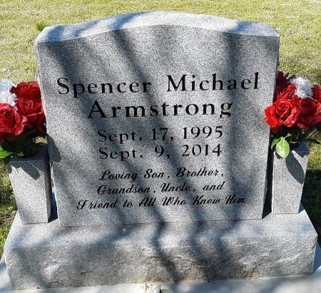 ARMSTRONG, SPENCER MICHAEL - Hopkins County, Texas | SPENCER MICHAEL ARMSTRONG - Texas Gravestone Photos