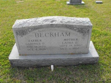 OWEN BECKHAM, LAURA D - Hopkins County, Texas | LAURA D OWEN BECKHAM - Texas Gravestone Photos