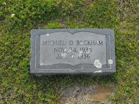 BECKHAM, MICHAEL D - Hopkins County, Texas | MICHAEL D BECKHAM - Texas Gravestone Photos