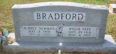 BRADFORD, WILLIE FAYE - Hopkins County, Texas | WILLIE FAYE BRADFORD - Texas Gravestone Photos
