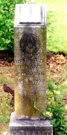 "BRYANT, NEEDHAM AUTRY DAVID ""NAD"" - Hopkins County, Texas | NEEDHAM AUTRY DAVID ""NAD"" BRYANT - Texas Gravestone Photos"