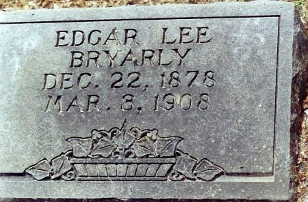 BRYARLY, EDGAR LEE - Hopkins County, Texas | EDGAR LEE BRYARLY - Texas Gravestone Photos