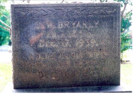 BRYARLY, SILAS WRIGHT - Hopkins County, Texas | SILAS WRIGHT BRYARLY - Texas Gravestone Photos