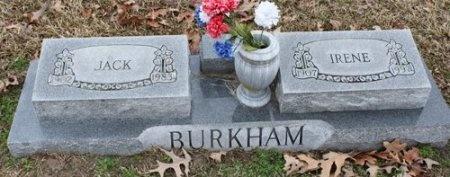 BURKHAM, IRENE - Hopkins County, Texas | IRENE BURKHAM - Texas Gravestone Photos