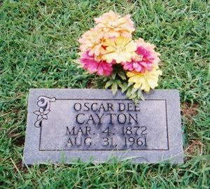 CAYTON, OSCAR DEE - Hopkins County, Texas | OSCAR DEE CAYTON - Texas Gravestone Photos
