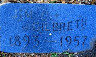 GILBRETH, JAMES CARLTON - Hopkins County, Texas | JAMES CARLTON GILBRETH - Texas Gravestone Photos
