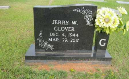GLOVER, JERRY W - Hopkins County, Texas | JERRY W GLOVER - Texas Gravestone Photos