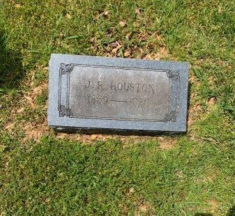 HOUSTON, J. R. - Hopkins County, Texas | J. R. HOUSTON - Texas Gravestone Photos