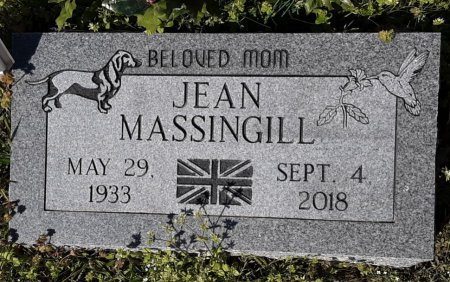 MASSINGILL, JEAN - Hopkins County, Texas | JEAN MASSINGILL - Texas Gravestone Photos