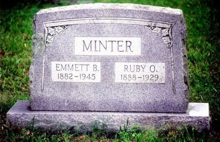 BYARLY MINTER, RUBY ODELL - Hopkins County, Texas | RUBY ODELL BYARLY MINTER - Texas Gravestone Photos