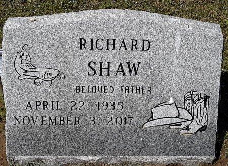 SHAW, RICHARD - Hopkins County, Texas   RICHARD SHAW - Texas Gravestone Photos