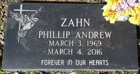ZAHN, PHILLIP ANDREW - Hopkins County, Texas | PHILLIP ANDREW ZAHN - Texas Gravestone Photos