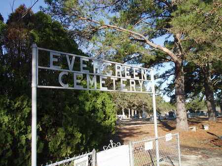 *EVERGREEN CEMETERY SIGN AND E, EVERGREEN LOVELADY GATE - Houston County, Texas | EVERGREEN LOVELADY GATE *EVERGREEN CEMETERY SIGN AND E - Texas Gravestone Photos