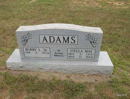 MUSICK ADAMS, STELLA MAE - Houston County, Texas   STELLA MAE MUSICK ADAMS - Texas Gravestone Photos
