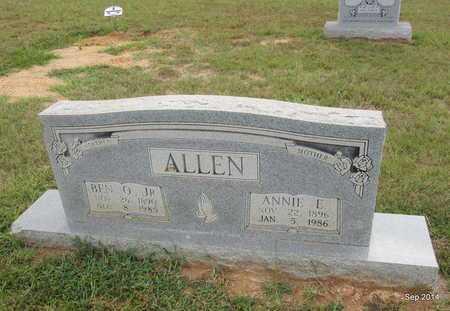 ALLEN, JR, BEN OLIVER - Houston County, Texas | BEN OLIVER ALLEN, JR - Texas Gravestone Photos