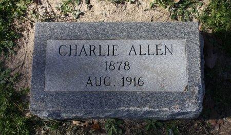 ALLEN, CHARLIE - Houston County, Texas   CHARLIE ALLEN - Texas Gravestone Photos