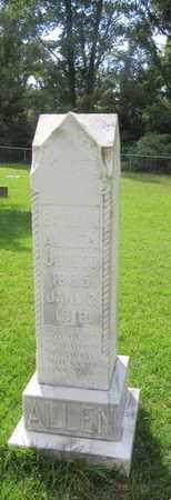 ALLEN (VETERAN WWI), EARLE - Houston County, Texas   EARLE ALLEN (VETERAN WWI) - Texas Gravestone Photos
