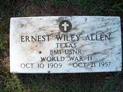 ALLEN (VETERAN WWII), ERNEST WILEY - Houston County, Texas   ERNEST WILEY ALLEN (VETERAN WWII) - Texas Gravestone Photos