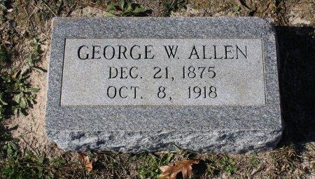 ALLEN, GEORGE W. - Houston County, Texas | GEORGE W. ALLEN - Texas Gravestone Photos