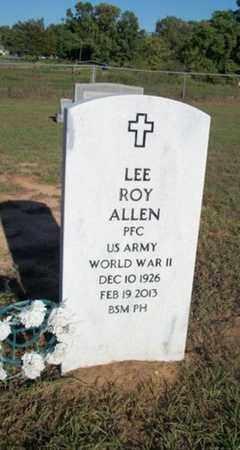 ALLEN (VETERAN WWII), LEE ROY - Houston County, Texas   LEE ROY ALLEN (VETERAN WWII) - Texas Gravestone Photos