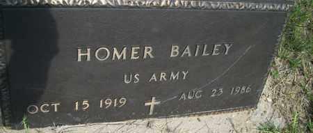 BAILEY (VETERAN), HOMER - Houston County, Texas   HOMER BAILEY (VETERAN) - Texas Gravestone Photos